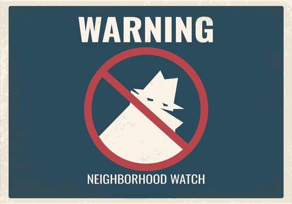 holiday warning