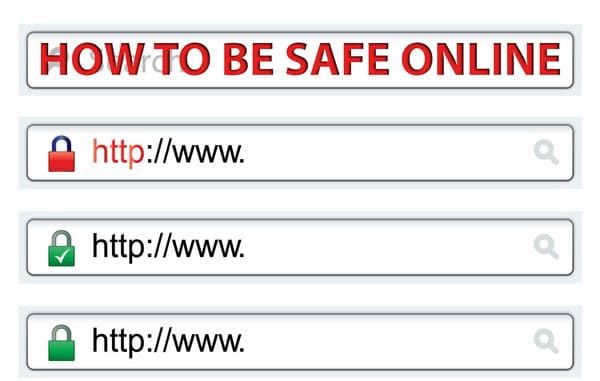 how to be safe online