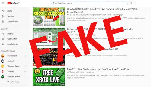 youtube-search-on-free-xbox-live-codes